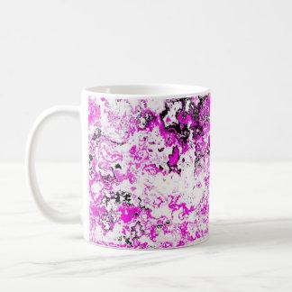 Extravagante rosa PunkTasse Kaffeetasse