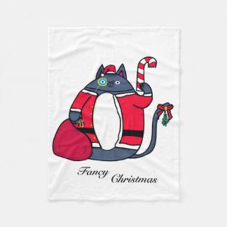 Extravagante WeihnachtsFleece-Decke Fleecedecke