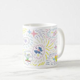 Extravagante Wolken-Entwurfs-Tasse Kaffeetasse
