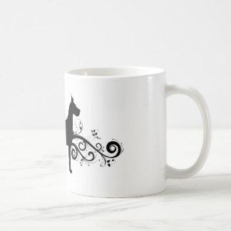 Extravaganter Däne Kaffeetasse