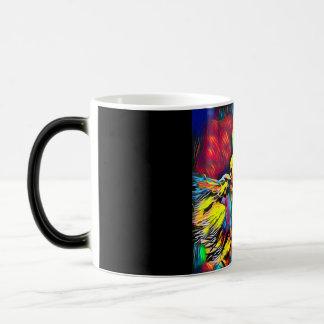 Extravaganter Schal-Tänzer-trinkende Tasse