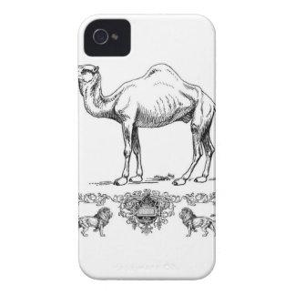 extravagantes Löwekamel iPhone 4 Hülle