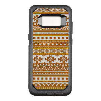 extravagantes Stammes- Grenzmuster 08 goldenes (i) OtterBox Commuter Samsung Galaxy S8 Hülle
