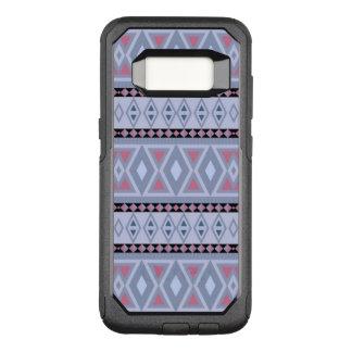 extravagantes Stammes- Musterblau (i) OtterBox Commuter Samsung Galaxy S8 Hülle