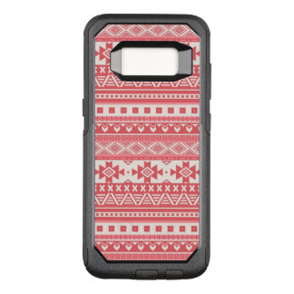 extravagantes Stammes- Rot des Grenzmusters 08 (i) OtterBox Commuter Samsung Galaxy S8 Hülle