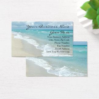 Extremer Entspannungs-Strand-elegante Visitenkarten