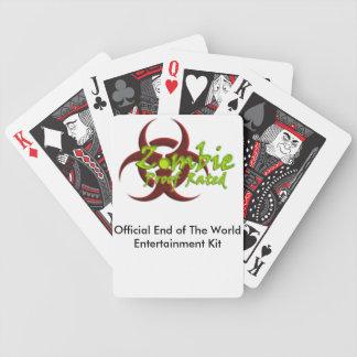 Extrémité du kit de divertissement du monde jeux de cartes poker