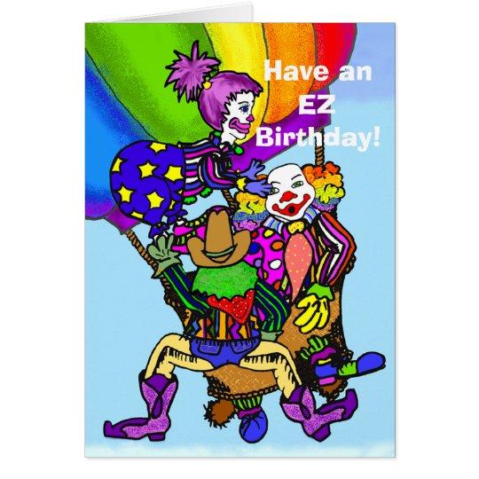 EZ Gekritzel haben einen EZ Geburtstag! 2 - Karte