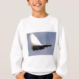 f-14 Tomcat Dampfspur Sweatshirt