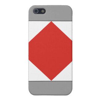 (f) Foxtrot Signal-Flagge iPhone 5 Schutzhüllen