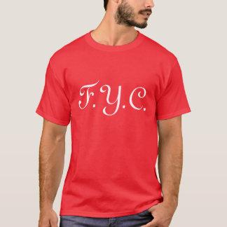 F.Y.C.  Roter Regen T-Shirt