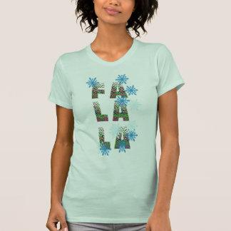 Fa-La-LaweihnachtsShirt-Entwurf Geschenkidee T-Shirt