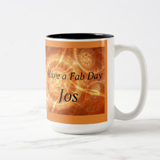 Fab TagesTasse Zweifarbige Tasse
