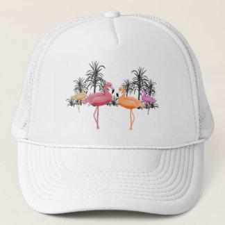 Fabelhafte Flamingos Truckerkappe