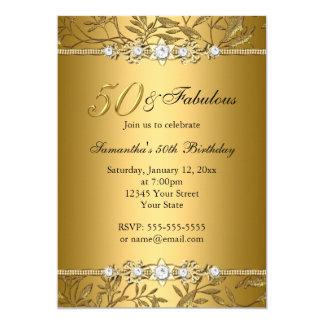 Fabelhafte Geburtstags-Einladung des 12,7 X 17,8 Cm Einladungskarte