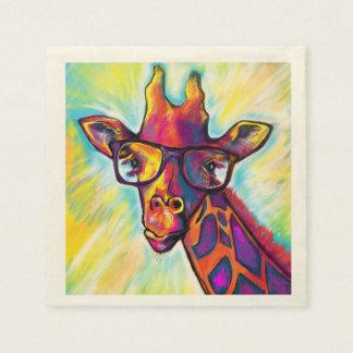 Fabelhafte Giraffen-Cocktail-Servietten Serviette