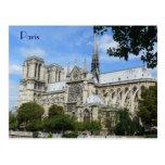 Façade du sud, cathédrale de Notre Dame, Paris, Fr Carte Postale