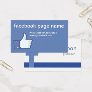 Facebook CC0059 Visitenkarte