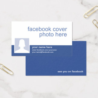 Facebook CC0213 Visitenkarte
