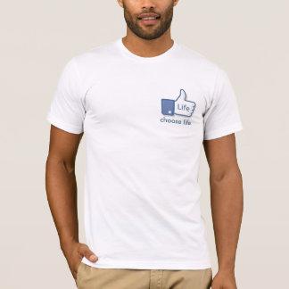 Facebook mögen Leben-T - Shirt