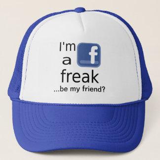 Facebook ungewöhnlicher Hut Truckerkappe