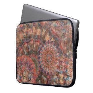 Facettierte Räder der Farblaptop-Hülse Laptopschutzhülle