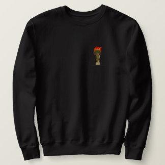 Fackel-Flamme Sweatshirt