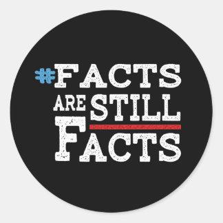 #FactsAreStillFacts Runder Aufkleber