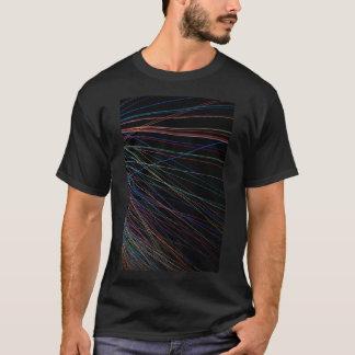 Fadenlinien von einem Sommerfestival T-Shirt