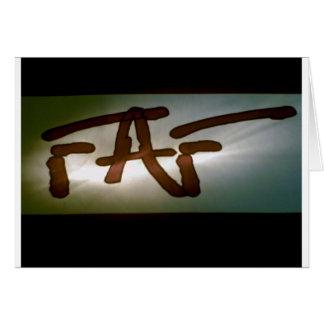FAF Scheinwerfer Karte