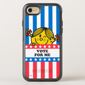 Fahne 4 Frau-Sunshine Vote For Me OtterBox Symmetry iPhone 8/7 Hülle