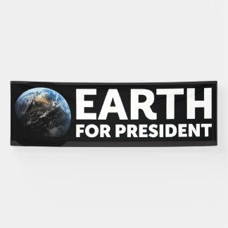 Fahne, Erde für Präsidenten Banner
