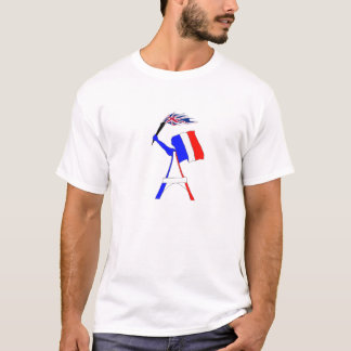FAHNE FRANKREICH ANGLETERRE.png T-Shirt