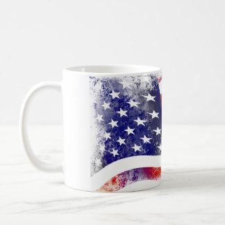 Fahne WEISSES Amerika Becher 325 ml Becher Kaffeetasse