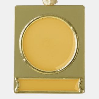 Fahnen-Verzierungs-Silber-Goldclr addieren Banner-Ornament Gold