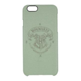 Fahnen-Wappen Harry Potter | Hogwarts Durchsichtige iPhone 6/6S Hülle