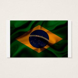 Fahnenschwenkende Seide Brasiliens Visitenkarte
