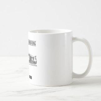Fahren des Kunst-Sport-Autos Kaffee Tasse