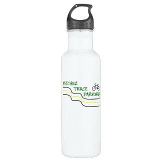Fahren Sie die Natchez Spurn-Wasser-Flasche rad Edelstahlflasche