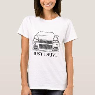 Fahren Sie einfach Skyline T-Shirt