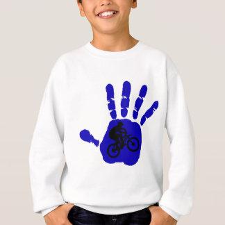 Fahrrad-BlauStreaker Sweatshirt
