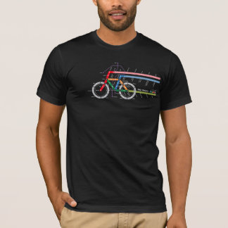 Fahrrad-Durchfahrt T-Shirt