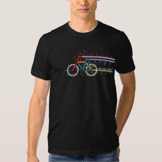 Fahrrad-Durchfahrt Tshirts