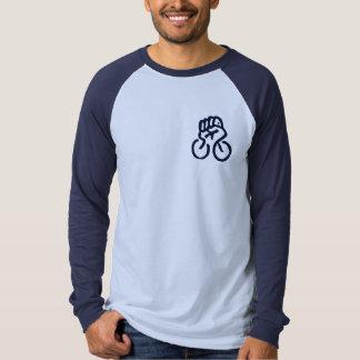 Fahrrad-Evolution (sehen Sie Rückseite) Hemden