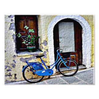 Fahrrad Fotodruck