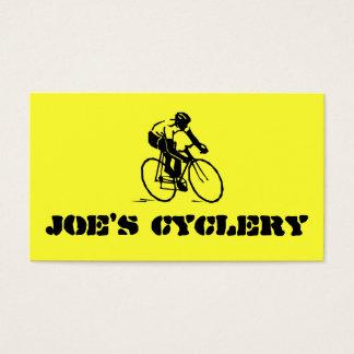 Fahrrad-Geschäfts-Visitenkarte Visitenkarte