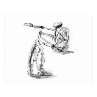 Fahrrad II Postkarte