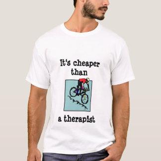 Fahrrad, ist es billigerer thana Therapeut T-Shirt
