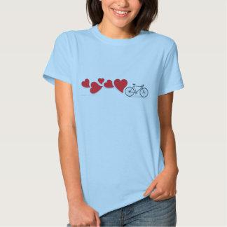Fahrrad-Liebe-T - Shirt