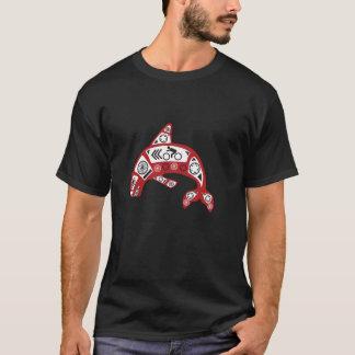 Fahrrad-Schwertwal T-Shirt